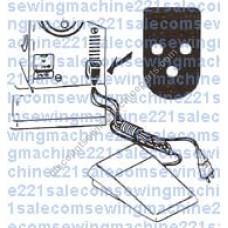 Foot Control #362095-001 with (Cord#792, N/12029)