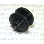 "Singer Motor Pulley #605011-001.  Motor Shaft Pulley with Metal Sleeve for ""V"" Type Belt"