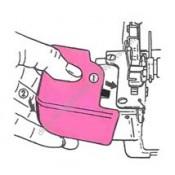 Singer Serger/Overlock Cylinder Cover #412706-002