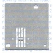 White Zig-Zag Needle Plate #6693