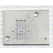 Babylock /Viking / White / Euro-Pro Zig-Zag Needle Plate #7688