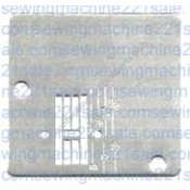 White Zig-ZAg Needle Plate