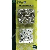 Row Marking Safety Pins