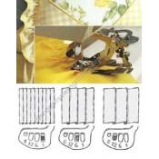 Husqvarna Viking Presser Foot Ruffler (Original) #920032-096