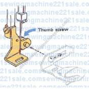 Adjustable Holder High Shank (screw-on)