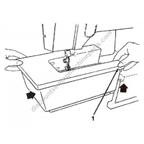 Singer Extension Table 317361 452 4552 Sewing Machine Parts
