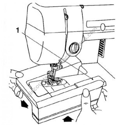 Singer Extension Table 356027452: Sewing Machine Parts Diagram At Downselot.com