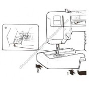 """Singer Extension Table #356989-451***Temporarily Out of Stock***  place your order for """"next in line"""" delivery"""