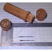 """""""Boye"""" Needles with Wood Container #2 1/2"""