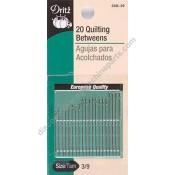 Hand Needles - Quilting/ Betweens Size 3/9