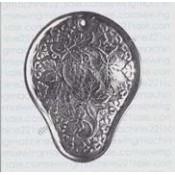 Back Cover Plate #54525 Original Kidney Shape
