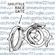 Singer Shuttle Race Gate (237) #352074