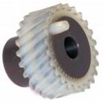 Sewing Machine Gears and Pulleys